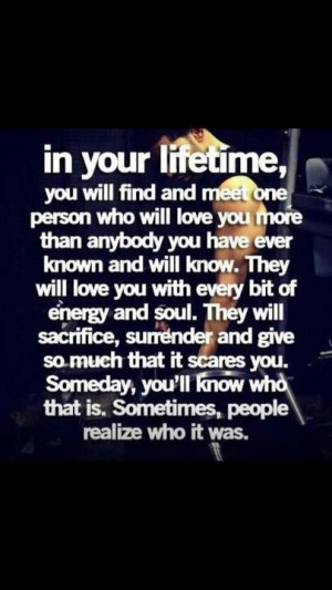 am so lucky & blessed to know who that is, and I will NEVER EVER LET ...