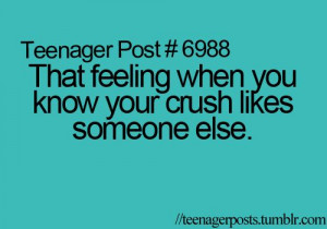 ... Crush Likes Someone Else, Heart Breaking, He Likes Someone Else Quotes