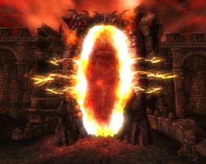 An Oblivion gate from The Elder Scrolls IV: Oblivion