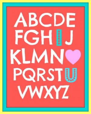 Abc Love Sign From Cox Corner