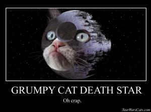 grumpy cat death star