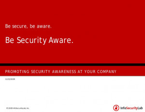 How To Promote Security Awareness In Your Company
