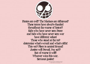 One of the best one piece quotes