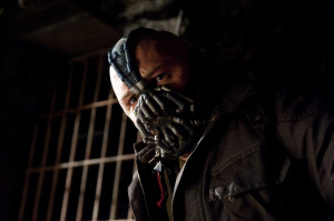 Bane Tom Hardy as Bane in 'The Dark Knight Rises' (HQ)