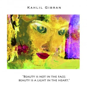 quote from Kahlil Gibran: