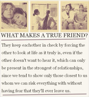 meredith and christina that s me and katie for sure she s my christina