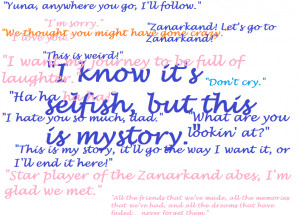 Final Fantasy X Quotes by toXic-REM
