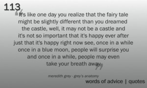 meredith grey- quotes- grey's anatomy
