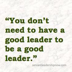 Servant Leadership Now -