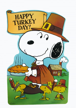 Snoopy Thanksgiving Desktop - HD Wallpapers