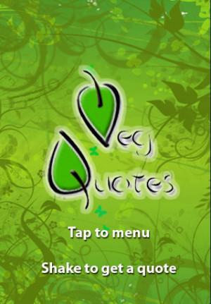 Download Veg Quotes - Vegetarian and Vegan Inspiration iPhone iPad iOS