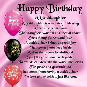 Personalised-Coaster-Goddaughter-Poem-Happy-Birthday-FREE-GIFT-BOX
