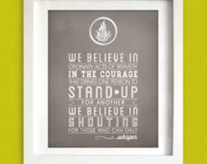 Popular items for dauntless quote on Etsy