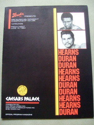 Tommy Hearns vs Roberto Duran