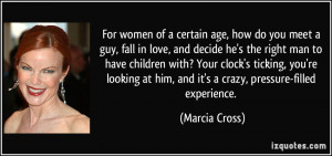 , how do you meet a guy, fall in love, and decide he's the right man ...