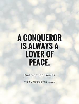 Conquer Quotes