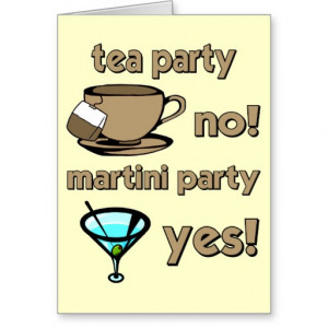 Martini Party Yes Funny...