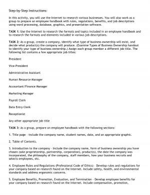 Employee Evaluation Database of Phrases - DOC