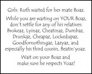 ruth and boaz joke
