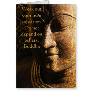 Zen Buddhist inspirational quote Cards
