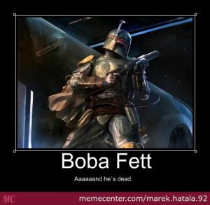 Boba Fett in 16 Memes