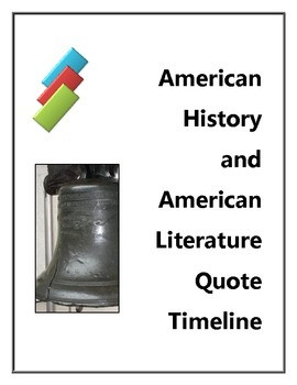 with current state adopted American Literature and American History ...