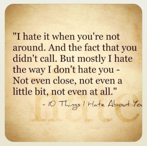 ... quotes you can things i hate about you cute quote tumblr quotestrend