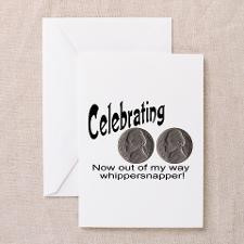 Double Nickels Greeting Cards