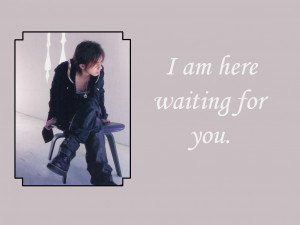 waiting for you quotes image