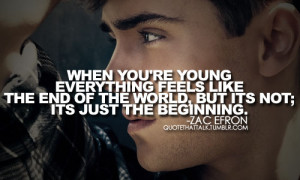 Zac Efron Quotes (Images)