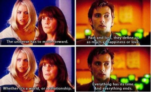 Doctor Who quote from