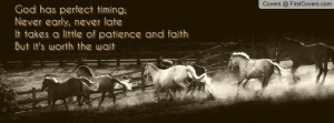 Horses Quote cover