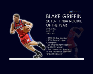 Blake Griffin Rookie of the Year Wallpaper | Live. Breathe. Sports.