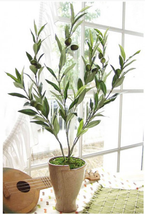 indoor plants artificial olive trees decorative bonsai olive tree
