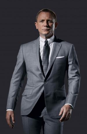 Daniel Craig James Bond Suit