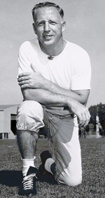 John McKay as an assistant coach at Oregon in the 1950's.