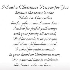 Said A Christmas Prayer Religious Christmas Card Set of 20 - View 3