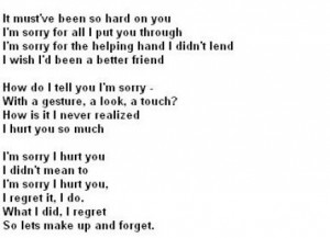 am sorry quotes for boyfriends