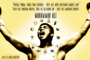 Muhammad Ali Anti-Racism by TheSayGi