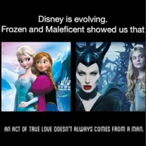 disney, frozen, love, maleficent, quote, true