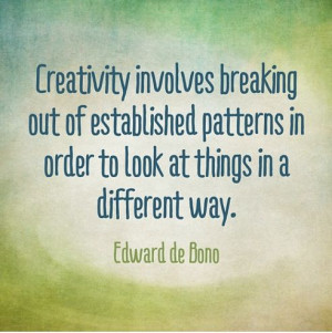 Quote about #creativity