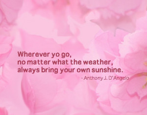 inspirational quote, summer