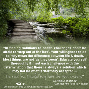 Healing Quotes For The Sick Finding solutions quote