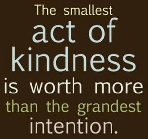 Random Acts of Kindness ~ Tuesday Tidbit