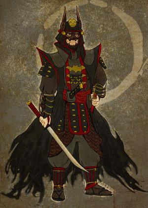 samurai, batman