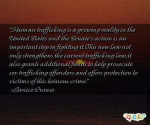 Human Trafficking Quotes Sayings. QuotesGram