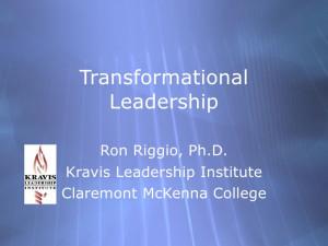 Transformational Leadership Quotes