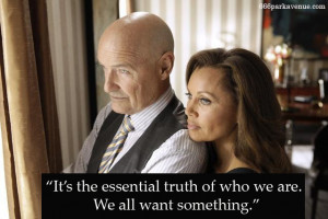 """Haunting Quotes: """"We All Want Something"""""""
