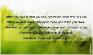 File Name : When+You+Start+To+Hate+Yourself,+Remember+Those+Who+Love ...