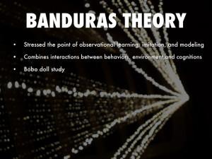 BANDURAS THEORY